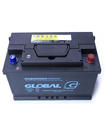 Μπαταρία αυτοκινήτου ευρωπαϊκού τύπου GLOBAL SMF 57820- 12V 78Ah - 700CCA(SAE) εκκίνησης