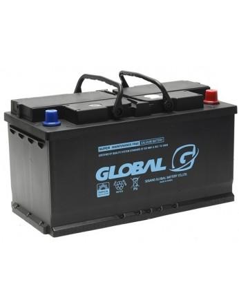 Μπαταρία αυτοκινήτου ευρωπαϊκού τύπου GLOBAL SMF 60044 - 12V 100Ah - 850CCA(SAE) εκκίνησης