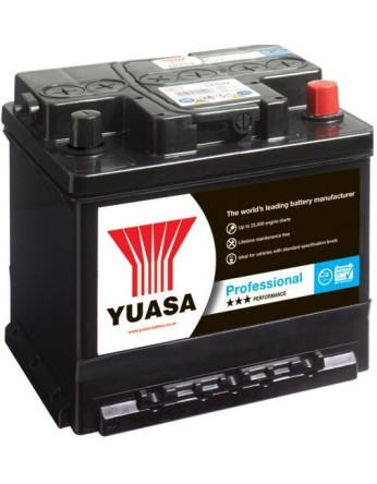 Μπαταρία αυτοκινήτου YUASA MF ανοιχτού τύπου 555.19 - 12V 54Ah - 470CCA(EN) εκκίνησης