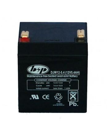 Μπαταρία B&P DJW 12-5.4 (T1) VRLA - AGM τεχνολογίας - 12V 5.4Ah