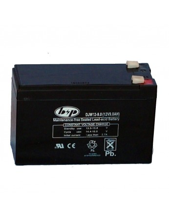 Μπαταρία B&P DJW 12-9.0L VRLA - AGM τεχνολογίας - 12V 9.0Ah