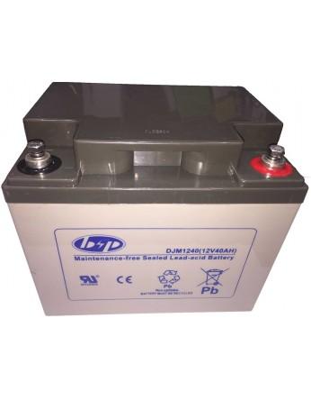 Μπαταρία B&P DJM 12-40 VRLA - AGM τεχνολογίας - 12V 40Ah (C20)