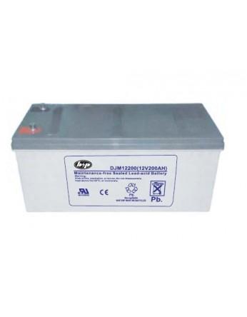 Μπαταρία B&P DJM 12-200 VRLA - AGM τεχνολογίας - 12V 200Ah (C20)