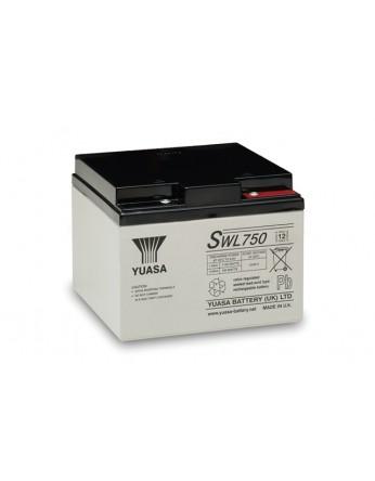 Μπαταρία YUASA SWL750 VRLA - AGM τεχνολογίας - 12V 22,9Ah(C10)