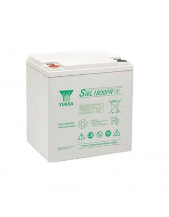 Μπαταρία YUASA SWL 1800VRLA - AGM τεχνολογίας - 12V 55Ah (C10)