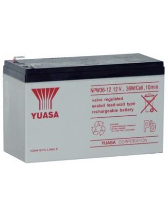 Μπαταρία YUASA NPW36-12 VRLA - AGM τεχνολογίας - 12V 9Ah (Αντικατάσταση από NPW45-12)