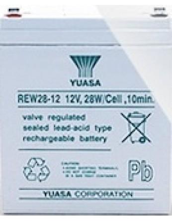 Μπαταρία YUASA REW28-12 long life VRLA - AGM τεχνολογίας - 12V 28 watt / κελί