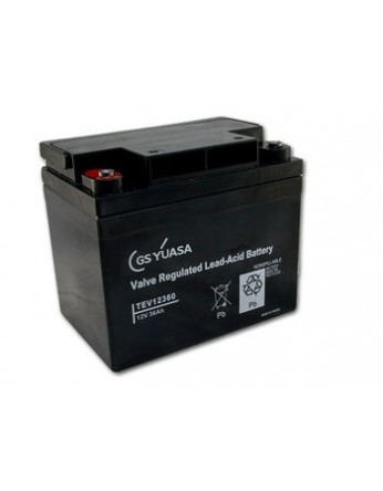 Μπαταρία YUASA TEV 12360 VRLA - AGM τεχνολογίας - 12V 36Ah