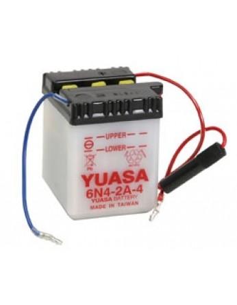 Μπαταρία μοτοσυκλετών YUASA Conventional 6N4-2A-4 - 6V 4 (10HR)