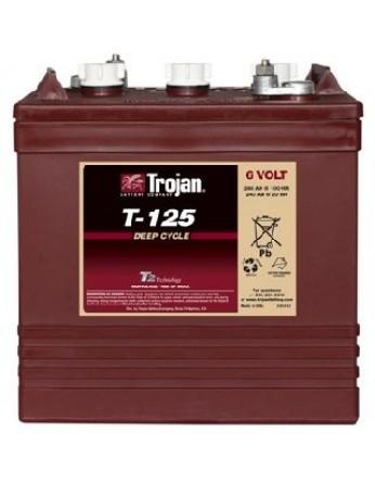 Μπαταρία Trojan Deep - Cycle Flooded βαθιάς εκφόρτισης T-125 - 6V 240Ah (C20)