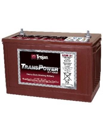 Μπαταρία Trojan Deep - Cycle AGM βαθιάς εκφόρτισης TransPower ST1000 AGM 31 -12V 102Ah (C20)