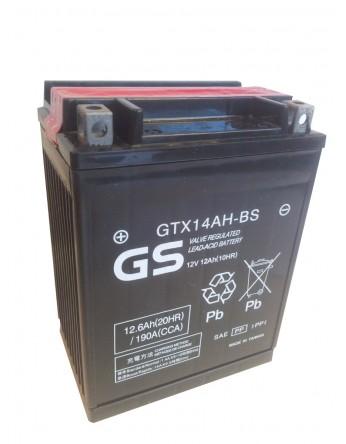 Μπαταρία μοτοσυκλετών GS GTX14AH-BS High Performance Maintenance Free GTX14H-BS -12V 12 Ah(10HR) - 240 CCA(EN) εκκίνησης