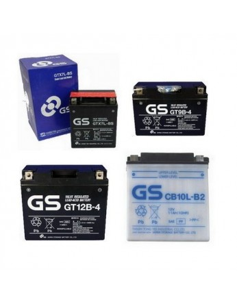 Μπαταρία μοτοσυκλετών ανοιχτού τύπου GS CB16-B - 12V 19 (10HR)