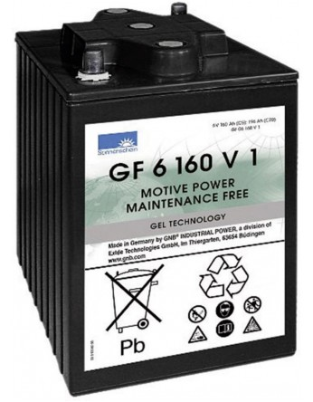 Μπαταρία Sonnenschein GF 06 160 V1 - GEL τεχνολογίας - 6V 196Ah