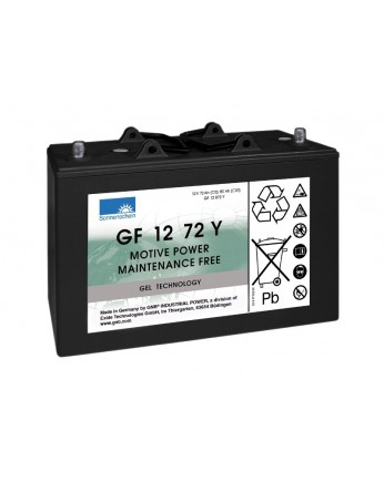 Μπαταρία Sonnenschein GF 12 072 Y - GEL τεχνολογίας - 12V 80Ah