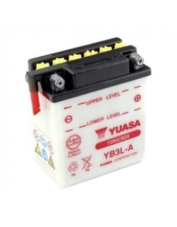 Μπαταρία μοτοσυκλετών YUASA Yumicron INDO YB3L-A - 12V 3 (10HR) - 32 CCA (EN) εκκίνησης
