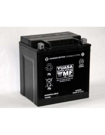 Μπαταρία μοτοσυκλετών YUASA Maintenance Free YIX30L-BS - 12V 30 (10HR)Ah - 385 CCA(EN) εκκίνησης