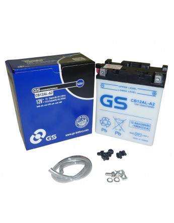 Μπαταρία μοτοσυκλετών ανοιχτού τύπου GS CB12AL-A2 - 12V 12 (10HR)