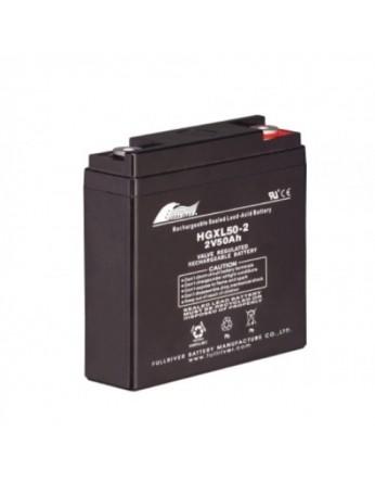 Μπαταρία FULLRIVER HGXL 50-2 VRLA - AGM τεχνολογίας - 2V 50Ah