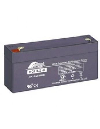 Μπαταρία FULLRIVER HGL 3.2-6 VRLA - AGM τεχνολογίας - 6V 3.2Ah