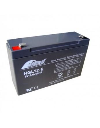 Μπαταρία FULLRIVER HGL 12-6 VRLA - AGM τεχνολογίας - 6V 12Ah