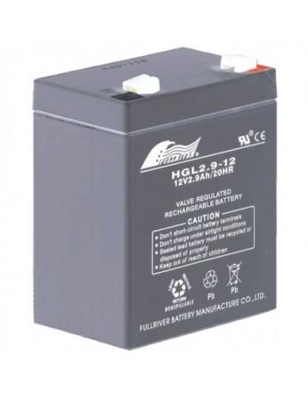 Μπαταρία FULLRIVER HGL 2.9-12 VRLA - AGM τεχνολογίας - 12V 2.9Ah