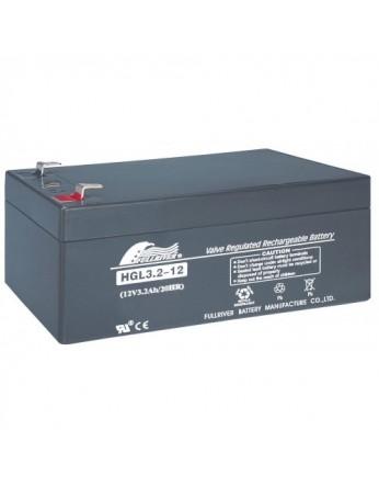 Μπαταρία FULLRIVER HGL 3.2-12 VRLA - AGM τεχνολογίας - 12V 3.2Ah