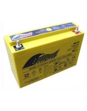 Μπαταρία FULLRIVER HC 15-12 VRLA - AGM τεχνολογίας -12V 15Ah