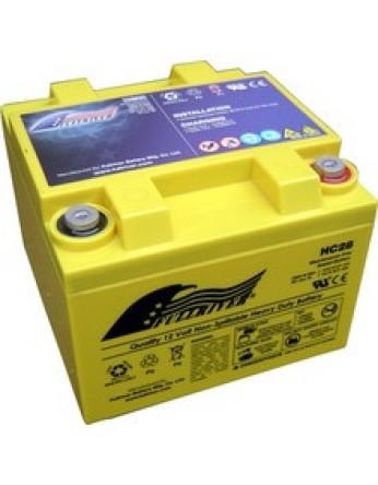 Μπαταρία FULLRIVER HC 28-12 VRLA - AGM τεχνολογίας -12V 28Ah