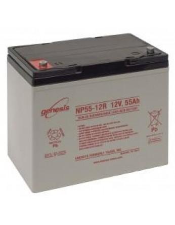 Μπαταρία GENESIS NP55-12 VRLA - AGM τεχνολογίας - 12V 55Ah