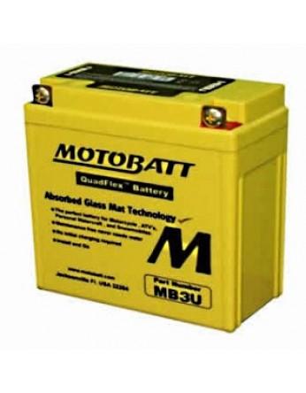 Μπαταρία μοτοσυκλετών MOTOBATT MB3U- 12V 3.8 (10HR)Ah - 40CCA εκκίνησης