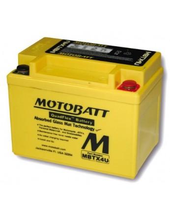 Μπαταρία μοτοσυκλετών MOTOBATT MBTX4U - 12V 4.7 (10HR)Ah - 70CCA εκκίνησης