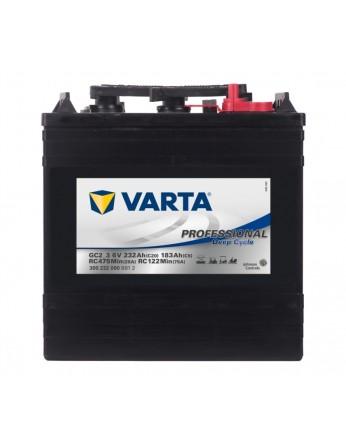 Μπαταρία Varta Professional Deep cycle Marine - Service GC2-3 - 6V 232 Ah