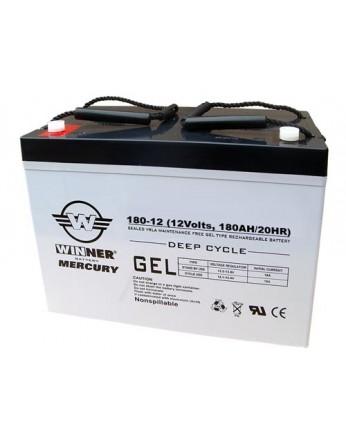 Μπαταρία Winner Mercury VRLA - GEL τεχνολογίας υψηλής απόδοσης - 12V 180Ah