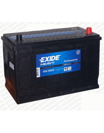 Μπαταρία Exide Professional EG1000 - 12V 100Ah - 720CCA A(EN) εκκίνησης