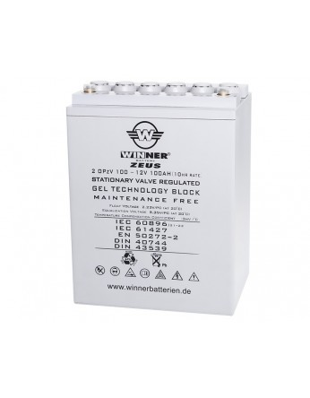 Μπαταρία Gel τεχνολογίας Winner Zeus 12V 2 OPzV 100 - 12V 100Ah(C20)