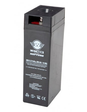 Μπαταρία Agm τεχνολογίας Winner Neptune 3000-2 / 2V 3000Ah (C10)