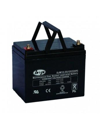 Μπαταρία B&P DJW 12-33 VRLA - AGM τεχνολογίας - 12V 33Ah (C20)
