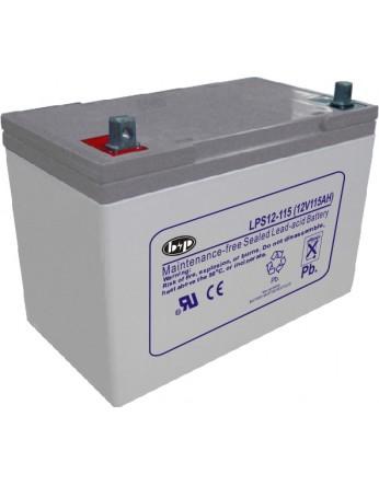 Μπαταρία B&P LPS 12-115 VRLA - AGM τεχνολογίας - 12V 105Ah κατάλληλη για ηλεκτρικά μοτέρ, τροχόσπιτα, φωτοβολταϊκά συστήματα, service σε σκάφη αναψυχής