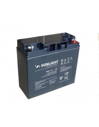 Μπαταρία Sunlight SPA12-18 VRLA - AGM τεχνολογίας - 12V 18Ah (C20)