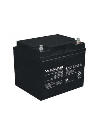 Μπαταρία Sunlight SPB12-40 VRLA - AGM τεχνολογίας - 12V 40Ah (C10)