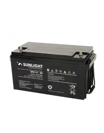 Μπαταρία Sunlight SPB12-80 VRLA - AGM τεχνολογίας - 12V 80Ah (C10)