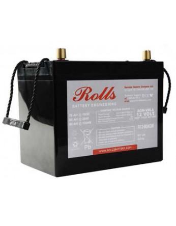 Μπαταρία Rolls AGM SERIES 2 βαθιάς εκφόρτισης R12-80AGM - 12V 80Ah (C20)