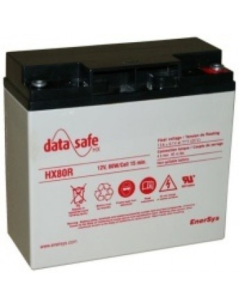 Μπαταρία DATASAFE 12HX80FR High rated - long life VRLA - AGM τεχνολογίας - 12V 80 watt / κελί Flame Retardant