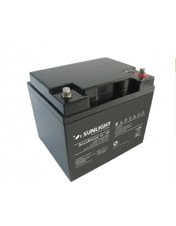 Μπαταρία Sunlight Accuforce 12-40 VRLA - AGM τεχνολογίας 12V - 40Ah (C10)