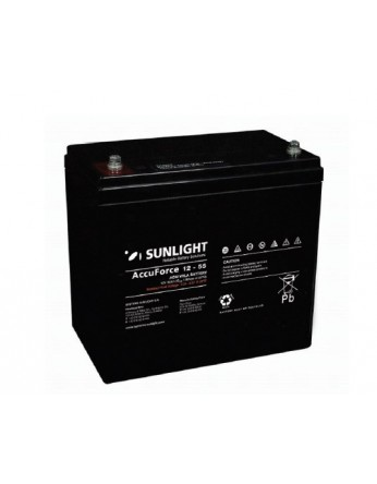 Μπαταρία Sunlight Accuforce12-55 VRLA - AGM τεχνολογίας 12V - 55Ah (C10)