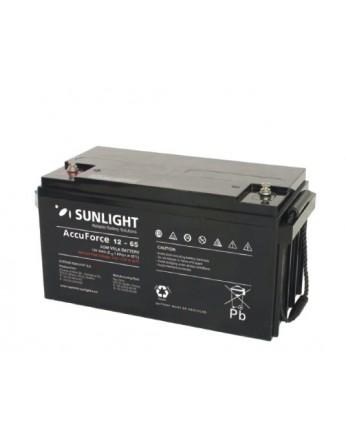 Μπαταρία Sunlight Accuforce12-65 VRLA - AGM τεχνολογίας 12V - 65Ah (C10)