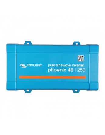 Μετατροπέας - inverter DC-AC καθαρού ημιτόνου Victron Phoenix 48/250 VE.Direct Schuko