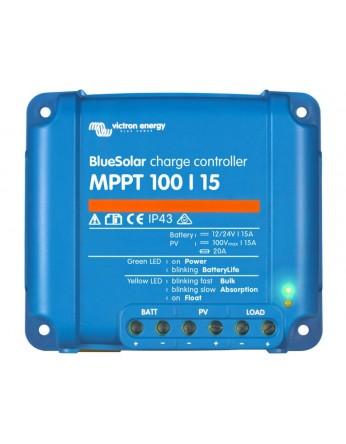 Ρυθμιστής φόρτισης φωτοβολταϊκών Victron BlueSolar MPPT 100/15