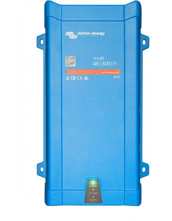 Μετατροπέας - inverter με φορτιστή DC-AC καθαρού ημιτόνου Victron MultiPlus 48/800/8-16